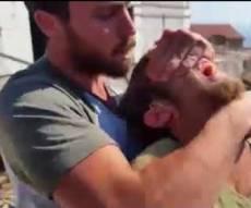 שוטרים עצרו נער בהר ברכה באלימות קשה