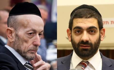 חברי הכנסת אורי מקלב ומיכאל מלכיאלי - 'ועדת הארבעה' סיכמה: יופחתו חילולי שבת