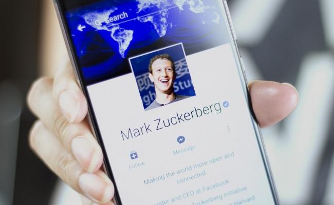 מארק צוקרברג בפייסבוק