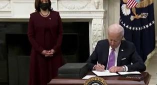 """ביידן נאבק בקורונה: בידוד למגיעים לארה""""ב"""
