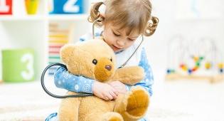 לראות רופא ילדים גם לפני שקורה משהו. אילוסטרציה