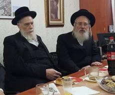 "ח""כ ישראל אייכלר ומיכל הלברשטאם. ארכיון"
