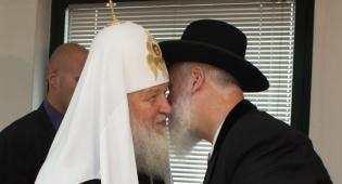 הרב מצגר והפטריאך - צפו: הרב מצגר והפטריארך נפגשו