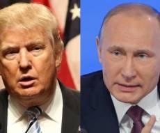 """הנשיאים פוטין טראמפ. ארכיון - רוסיה באזהרת מסע: ארה""""ב מחפשת אתכם"""