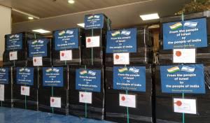 חבילות הסיוע במחסני משרד החוץ
