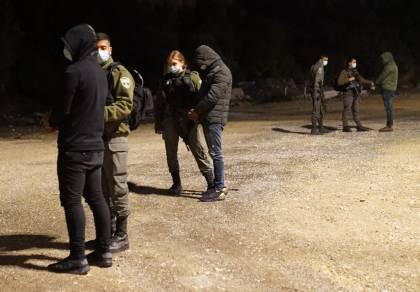 """כך לוחמי מג""""ב עצרו חשודים בסחר באמל""""ח"""