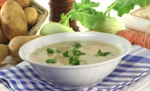 מרק תפוחי אדמה בריא קטיפתי - שלא יהרוס לכם את הדיאטה