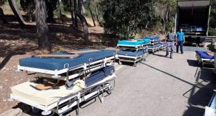 מיטות בית החולים שדה - אוהל המחאה פורק; ההורים ימשיכו להילחם