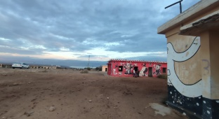 תיעוד חורפי: 'חוף קליה' הנטוש ו'נבי מוסא'