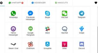 באפליקציה אחת: כל תוכנות המסרים המידיים