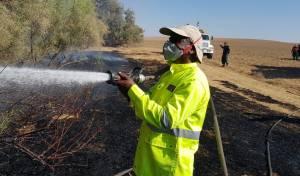 גם היום: עשרות שריפות מבלוני התבערה