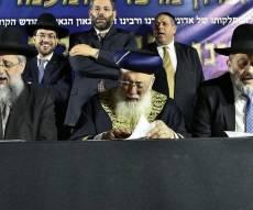 """בחצות לילה: המונים בציון מרן הגר""""ע יוסף"""