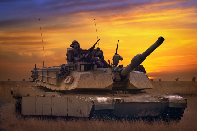 "טנק 'אברהמס' של צבא ארה""ב"