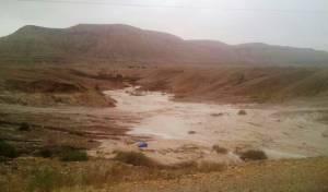 צפו: הנחלים זורמים בדרום הארץ