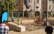 הלכודים פונו: שריפה בבניין חרדי באופקים