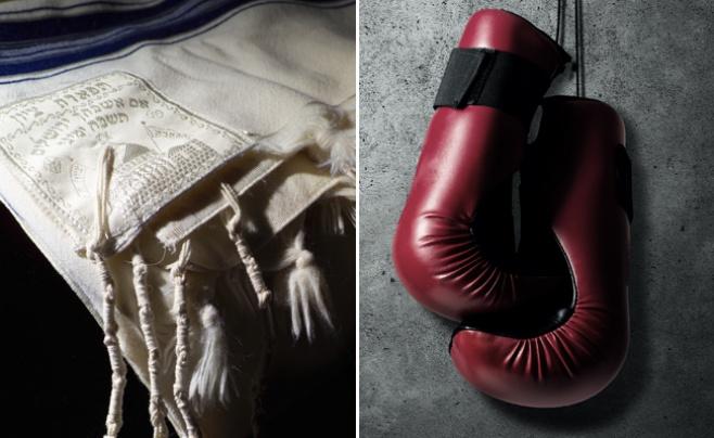 מרגש את הרשת: המתאגרף ניצח ולבש ציצית