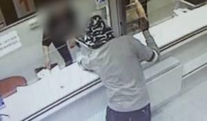 שוד בנק בבאר שבע; כך זה נראה במצלמות