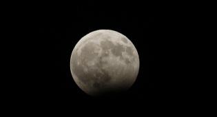 תיעוד מרהיב: ליקוי ירח בשמי ישראל