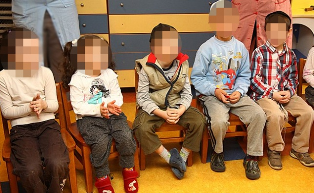 גן ילדים, למצולמים אין קשר לנאמר בכתבה