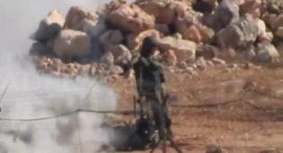 """חיזבאללה תיעד: בובת חייל צה""""ל ורובוט"""