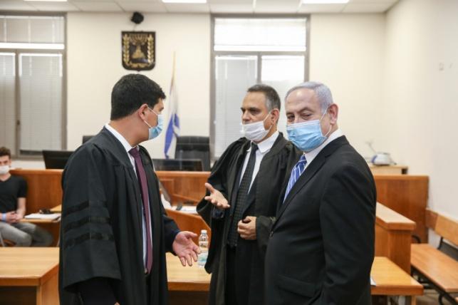 נתניהו בבית המשפט