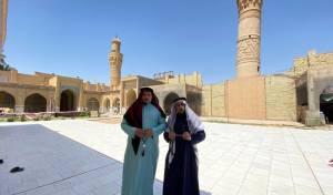 מחופש לערבי: הזמר החסידי ביקר בעיראק
