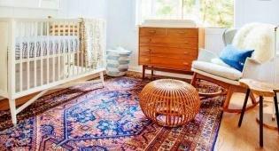חדר לתינוק/ת החדש/ה בסגנון פרסי