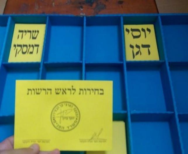 היום: בחירות לראשות מועצה אזורית שומרון