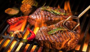 לצלות בשר על האש כמו שף