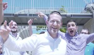 דוד לואי בסינגל קליפ בלחנו של פנחס וולף