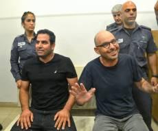 אלדד יניב ומני נפתלי בבית המשפט - אלדד יניב ומני נפתלי שוחררו מהמעצר