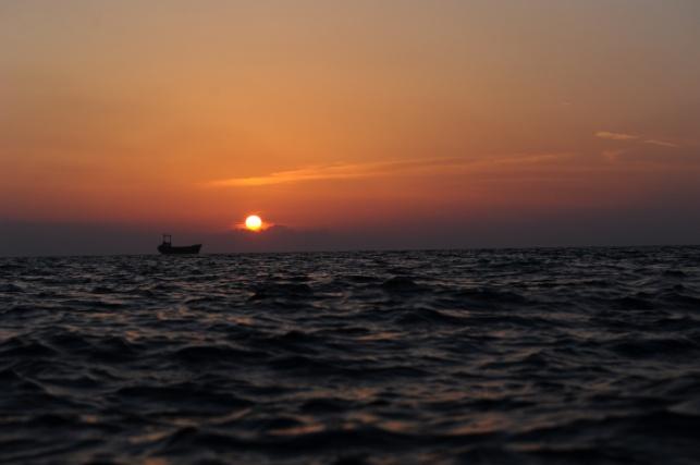 שקיעה השבוע בקפריסין