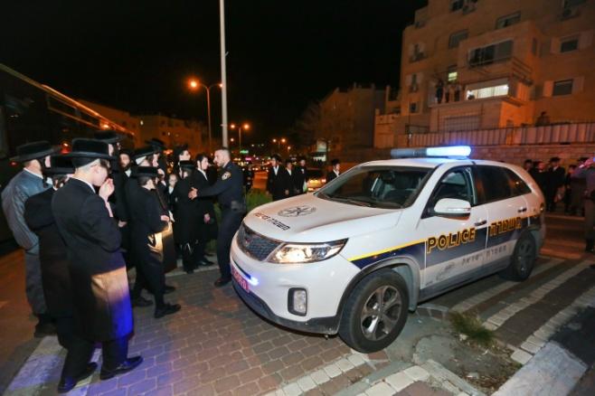 עימותים ומעצרים: צפו בהפגנה הסוערת בבית שמש