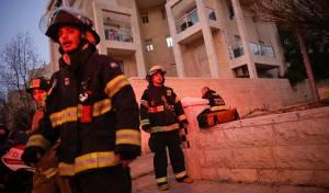 זירת האירוע - אם ו-4 ילדיה נשרפו למוות בביתם בירושלים