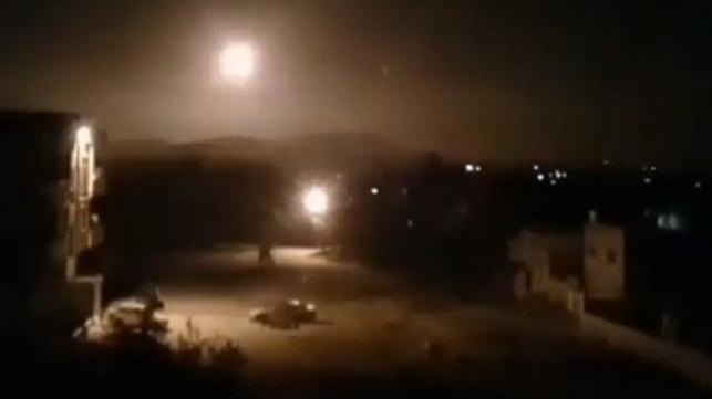 תיעוד מהתקיפות בסוריה