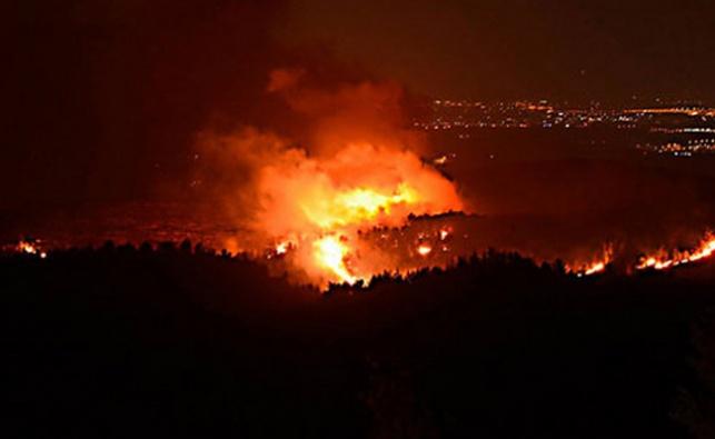 מעל 200 שריפות בפחות מיממה; האש מתקרבת לכביש 1