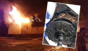 האש בבית הכנסת וגווילי ספרי התורה