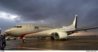 המלך שהטיס לבד את מטוסו בדרך לישראל