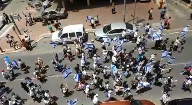 'יום ירושלים' ברחוב ירושלים בבני ברק • צפו