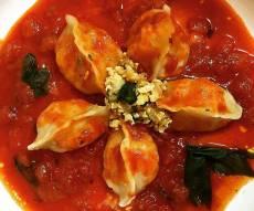 קרעפלאך ברוטב עגבניות