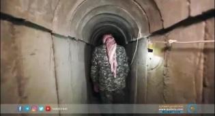 צפו: כך חמאס חופר מנהרות לשטח ישראל