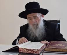 הגאון רבי דב יפה - זקן המשגיחים הליטאי התפלל בכיפור בצאנז