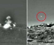 """כך נראתה התקיפה של צה""""ל בסוריה • צפו"""