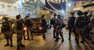 קרב סוכה; השוטרים עזבו והרוחות נרגעו