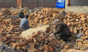 רעידת אדמה בסין, אילוסטרציה