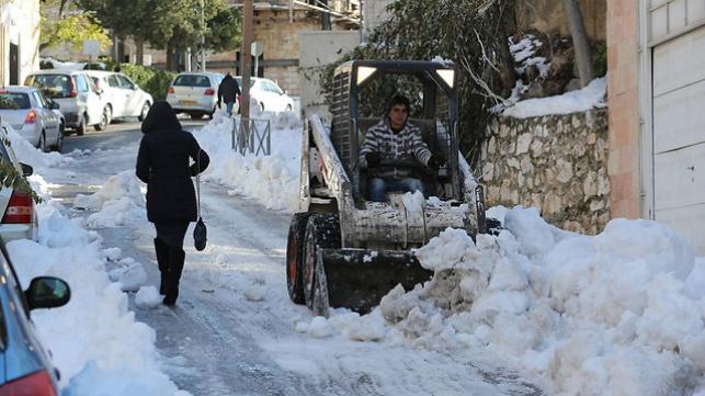 ירושלים, הבוקר