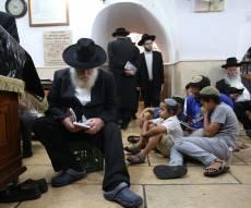 אמירת הקינות בציון רבי שמעון בר יוחאי • צפו