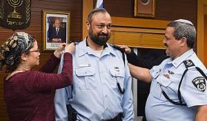 """דרגת נצ""""מ הוענקה לרב המשטרה החדש"""