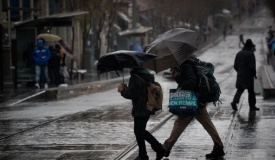 תחזית: גשום היום וגשום גם בימים הקרובים