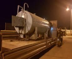 משאית הסולר שנתפסה - צפו: אלפי ביצים הוסלקו במשאית סולר